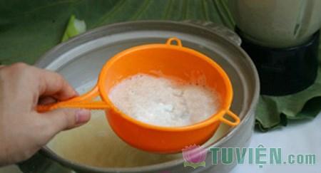 Mát lành, bổ dưỡng sữa hạt sen, Ẩm thực, am thuc, sua, hat sen, do uong, mon ngon, sinh to