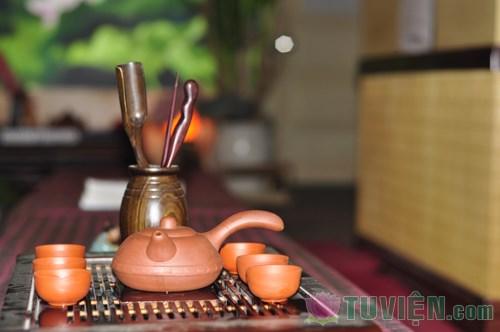 Thưởng thức không gian tĩnh lặng tại Vô Ưu trà quán