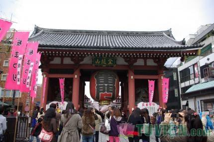Asakusa - Ngôi chùa to và nổi tiếng nhất Tokyo