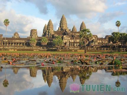 Angkor Wat, Angkor Thom and Bayon