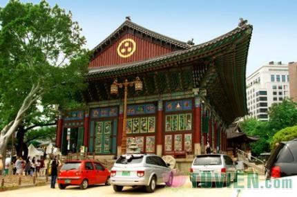 Tào Khê, ngôi chùa nổi tiếng ở Hàn Quốc -The Jogye-Sa Temple, Korea