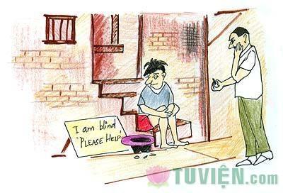 Cậu bé mù và câu chuyện về biết ơn cuộc sống