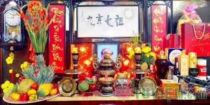 Ý nghĩa của bốn chữ Cửu Huyền Thất Tổ trên bàn thờ gia tiên