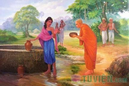 Câu chuyện về bát nước của ngài A Nan