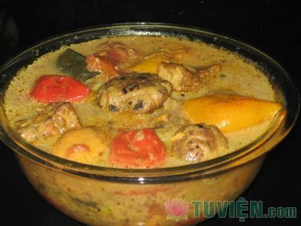Nấu chay: Cà ri Thái chay