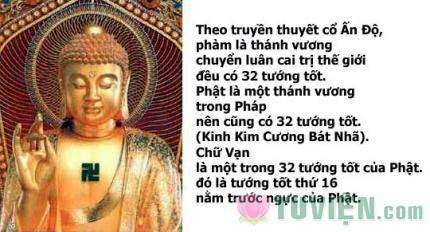 """Ý nghĩa chữ """"Vạn"""" trong Phật giáo"""