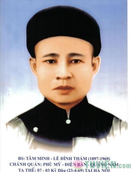 Cư sĩ Tâm Minh - Lê Đình Thám (1897-1969)