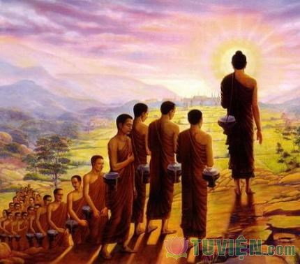 Đức Phật đi giữa mùa xuân