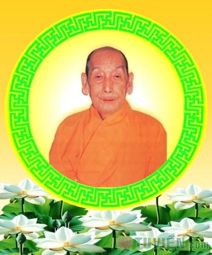 Hòa thượng Thích Đức Nhuận - vị Pháp chủ đầu tiên của Giáo hội Phật giáo Việt Nam