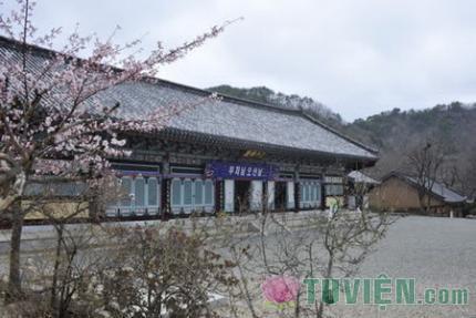 Hàm Nguyệt Sơn Kỳ Lâm Cổ Tự, Hàn Quốc