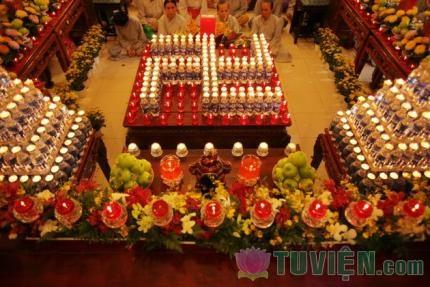Lược Ý Đốt Đèn Cúng Phật Trong Nghi Thức Nhiên Đăng Phật Giáo Bắc Truyền