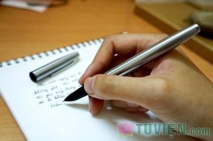 Nghiệm về nhân quảtừ viết chì và viết mực