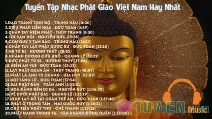 Tuyển tập những bài hát Phật giáo hay nhất
