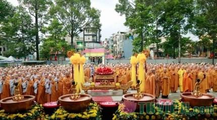 HT.Thích Trí Quảng chia sẻ về Tuần lễ Phật đản tại TP.HCM