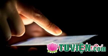Tác hại của điện thoại thông minh với đời sống tinh thần