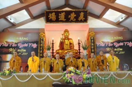 Thanh thiếu niên PT chùa Bằng mừng ngày 20-11