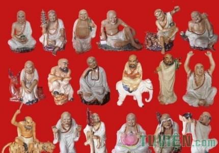 Sơ lượt và ý nghĩa 18 Vị La Hán trong Phật giáo
