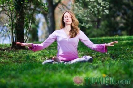 Thiền giúp tâm hồn chúng ta được an lạc