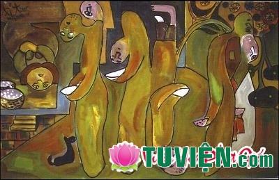 Tranh Phật giáo qua cách nhìn nghệ thuật đảo ngược (upsidedownism)