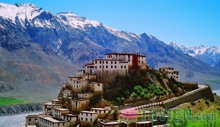 Tu viện Key Gompa - một danh lam không thể bỏ qua khi du lịch Ấn Độ