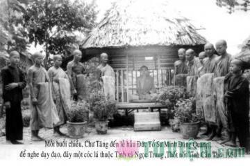 Tưởng niệm Tổ sư Minh Đăng Quang - Còn lại những bài pháp