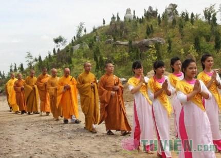Hà Tĩnh: Lễ giổ tổ và Vu lan Báo hiếu chùa Thanh Lương
