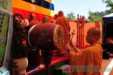 Ý nghĩa tiếng trống trong nghi lễ Phật giáo