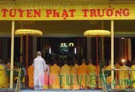 Ý nghĩa tuyển Phật trường